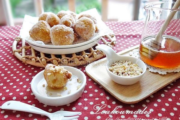 希腊甜甜圈的做法