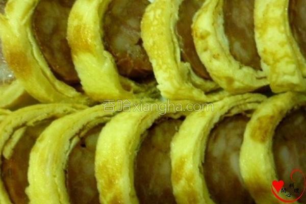 香肠蛋卷的做法