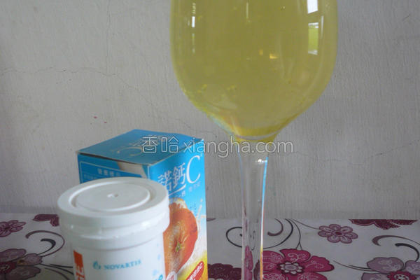芦荟气泡C冻饮─的做法