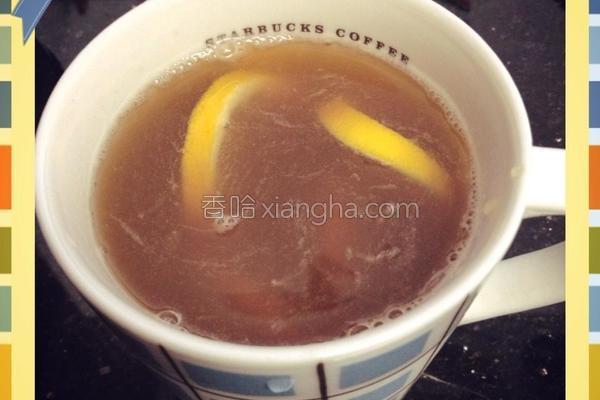 蜂蜜柠檬红茶的做法