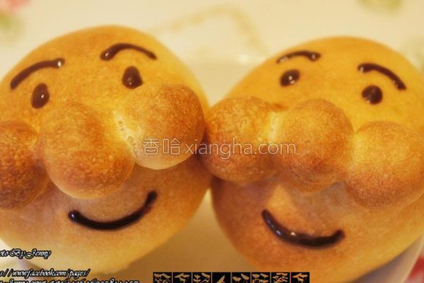 面包超人奶酥餐包的做法
