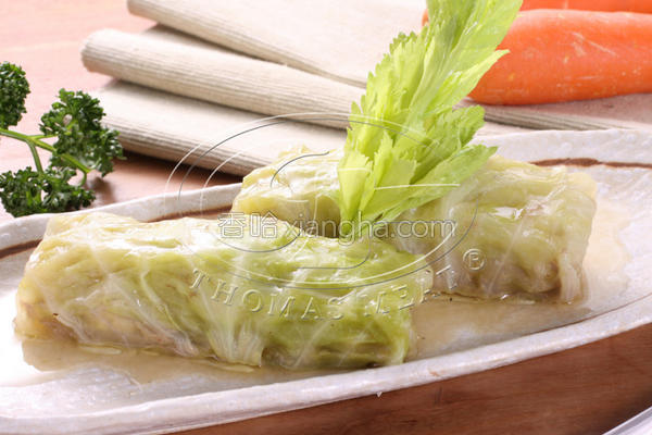 风豆腐牛肉菜卷的做法