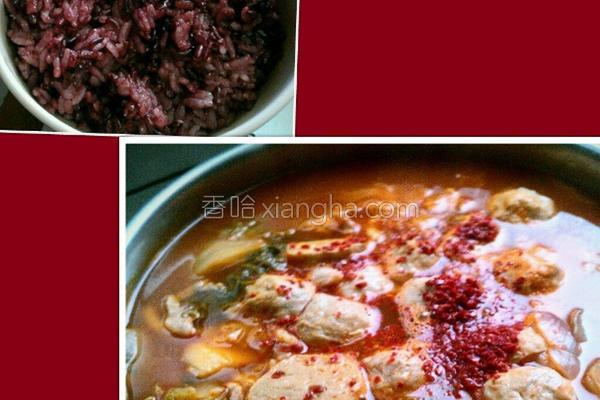 紫米饭的做法