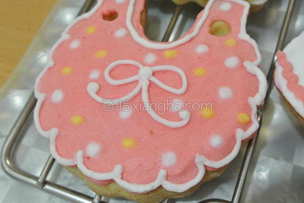 彩绘饼干的做法