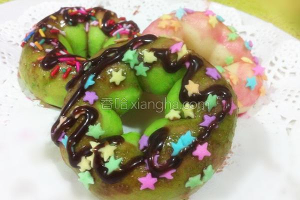 创意甜甜圈的做法