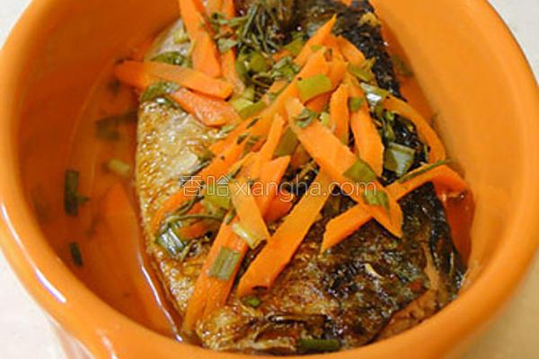 香渍鲭鱼的做法