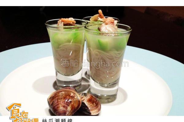料理丝瓜潮面线的做法