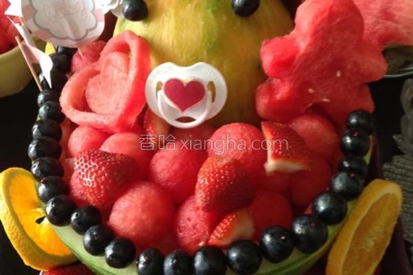 婴孩水果西瓜的做法