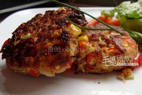鲑鱼煎饼的做法