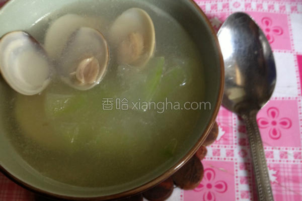 蛤蜊冬瓜汤的做法