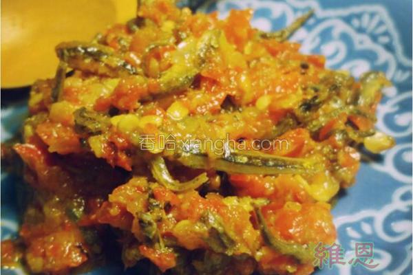 小鱼干辣椒酱的做法