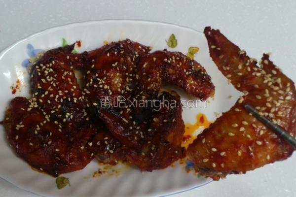 韩式烤鸡翅的做法