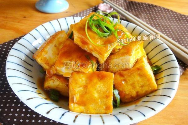 香煎糖醋豆腐的做法