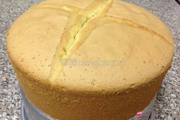 原味全蛋海棉蛋糕的做法