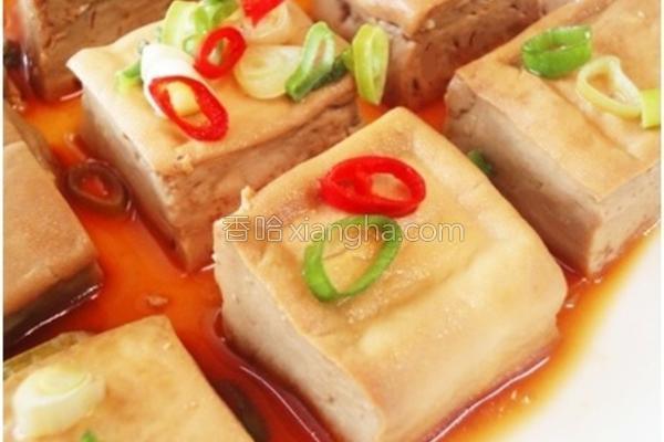 家常菜葱烧豆腐的做法