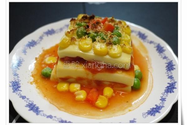 桂冠千层芙蓉豆腐的做法