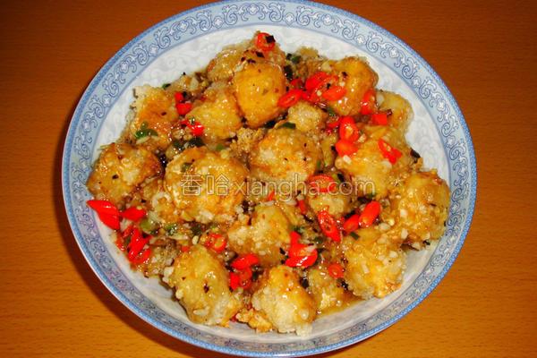 <川菜>鱼香豆腐的做法