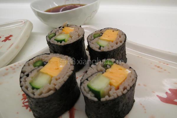 面寿司的做法