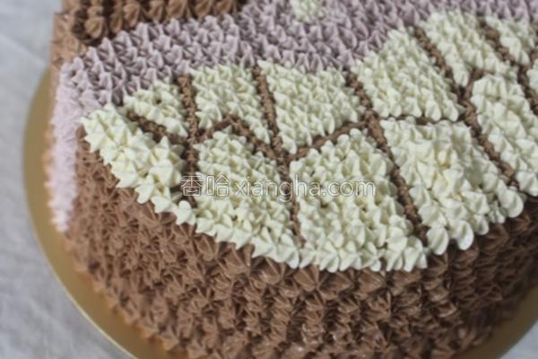 细菌小子蛋糕的做法