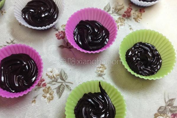 甘纳许巧克力的做法