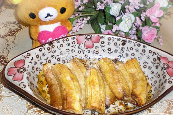蜜味香蕉的做法