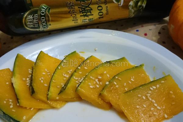 香煎蜜南瓜的做法
