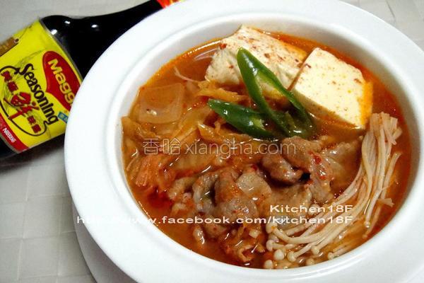 完美韩式泡菜锅的做法