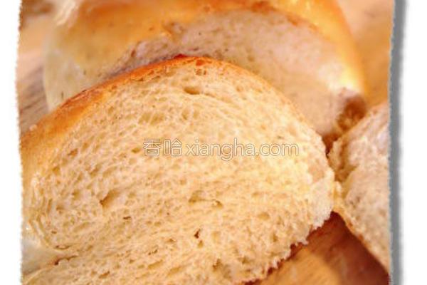 豆浆面包的做法