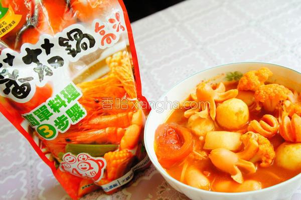 日式番茄锅的做法
