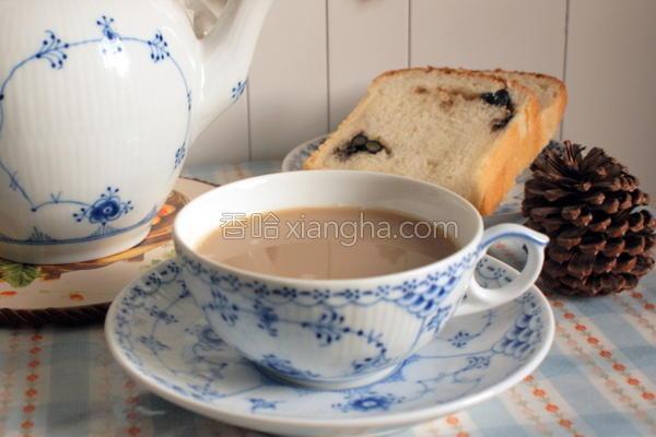 黑糖姜汁奶茶的做法