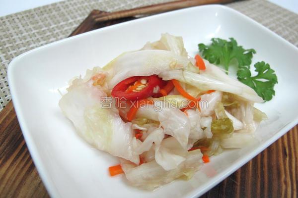 台式泡菜的做法