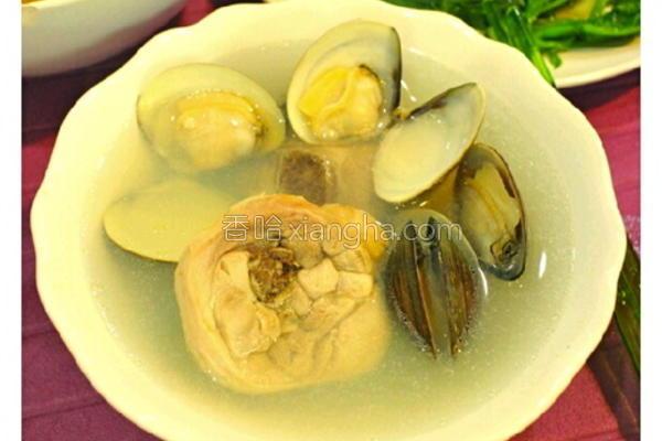 蛤蛎鸡汤的做法