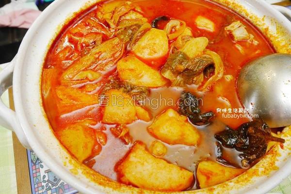 韩式马铃薯排骨汤的做法
