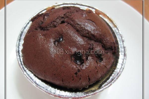 巧克力松饼的做法