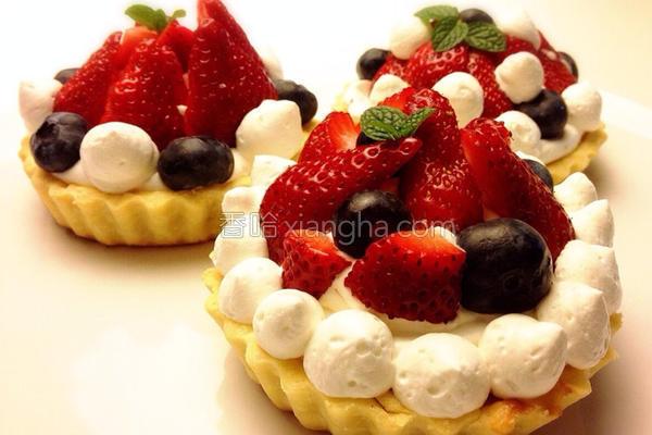 乳酪莓果塔的做法