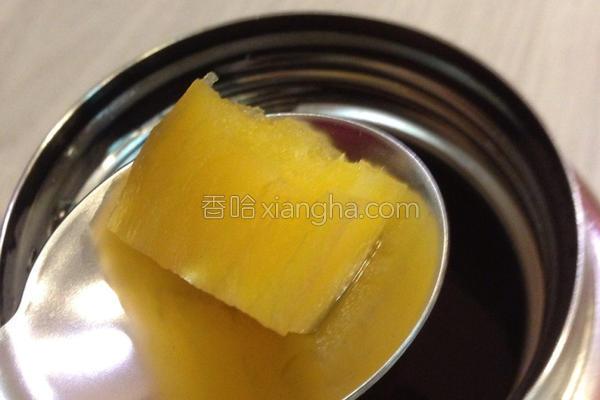 红糖生姜地瓜汤的做法