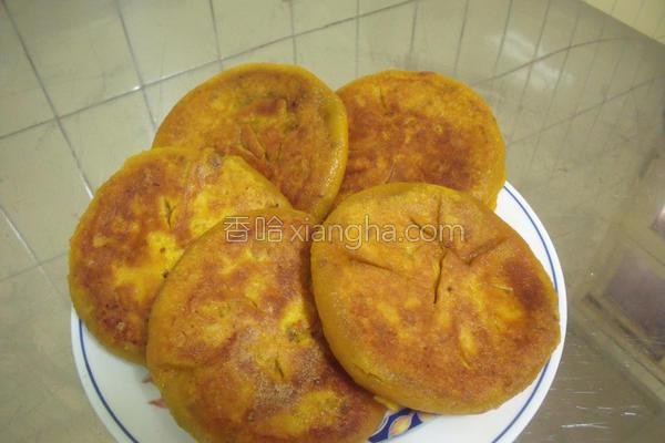 红豆南瓜煎饼的做法