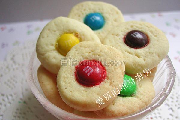 m&m巧克力饼干的做法