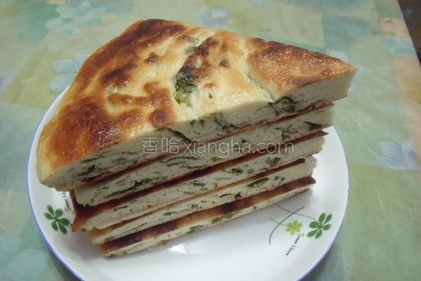 香芹大饼的做法