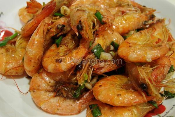咸酥虾的做法