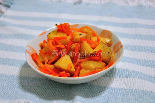 泡菜炒马铃薯的做法