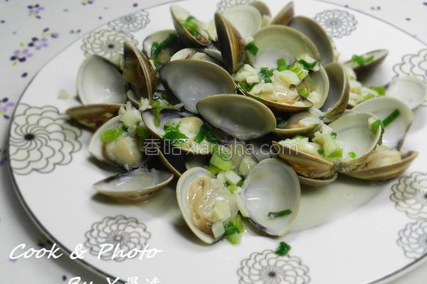 蒜香蛤蜊的做法