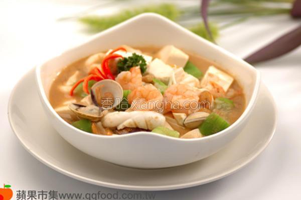 虾酱豆腐煲的做法