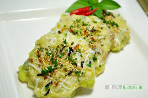 韭黄海鲜煎饼的做法