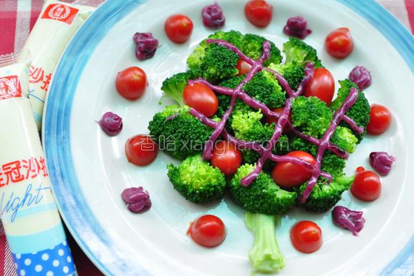 桂冠沙拉就酱调的做法