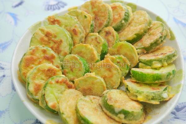 栉瓜煎饼的做法