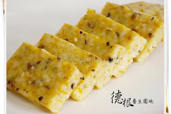 糙米饭南瓜糕的做法