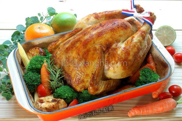 法式烤鸡的做法