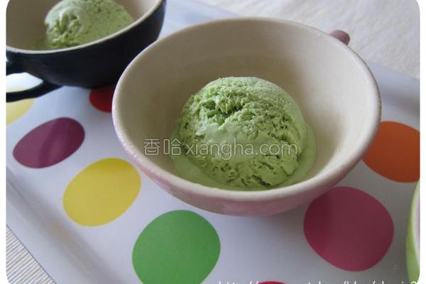 绿茶冰淇淋的做法