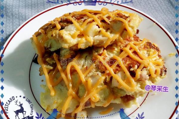 西班牙煎饼的做法